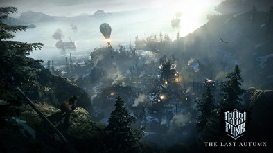 Frostpunk The Last Autumn DLC logo and artwork