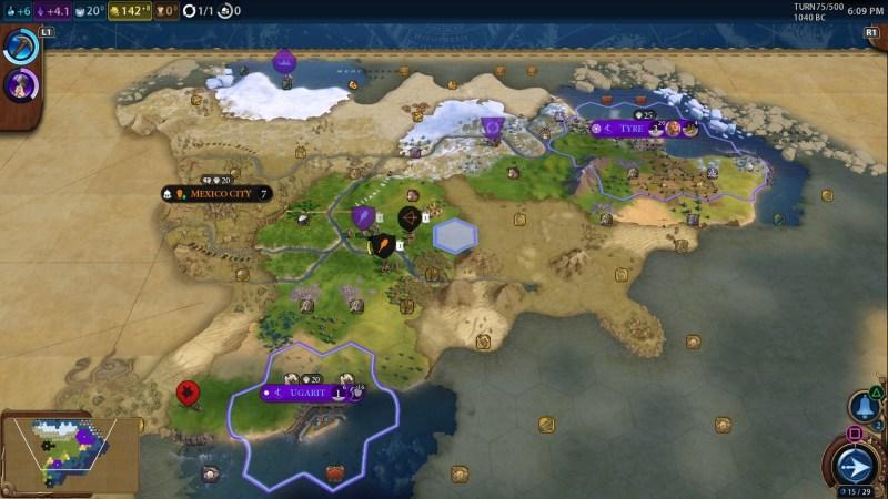 Civilization VI Map