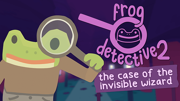 Frog Detective 2: The Case of the Invisible Wizard logo