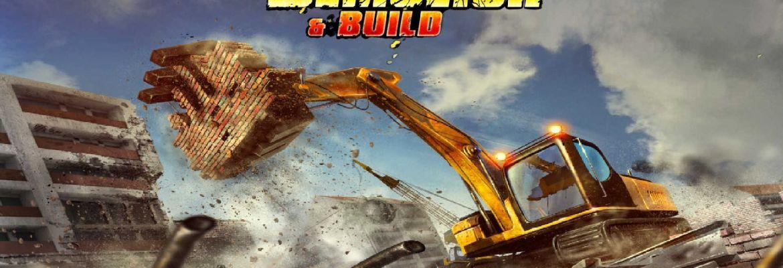 Demolish & Build logo and artwork
