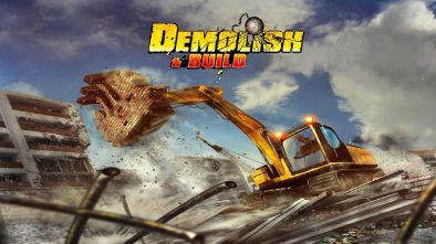 Demolish & Build logo and artwork