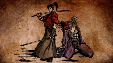 Musashi vs Cthulhu artwork
