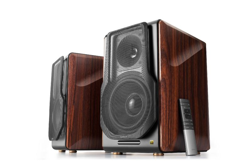 Edifier S3000 Pro speakers which are on show at CES 2020