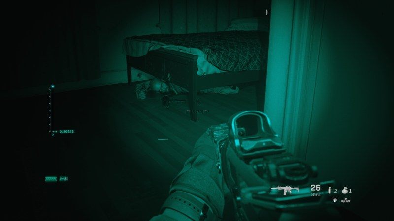 Night Vision in hip-fire mode