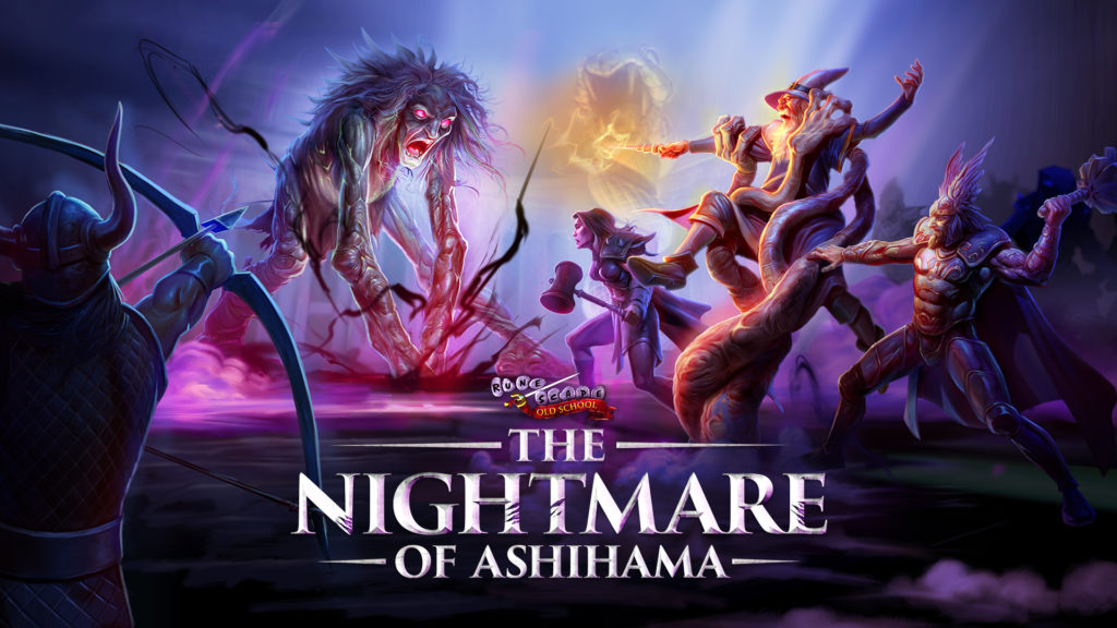 Old School RuneScape Nightmare of Ashihama artwork and logo