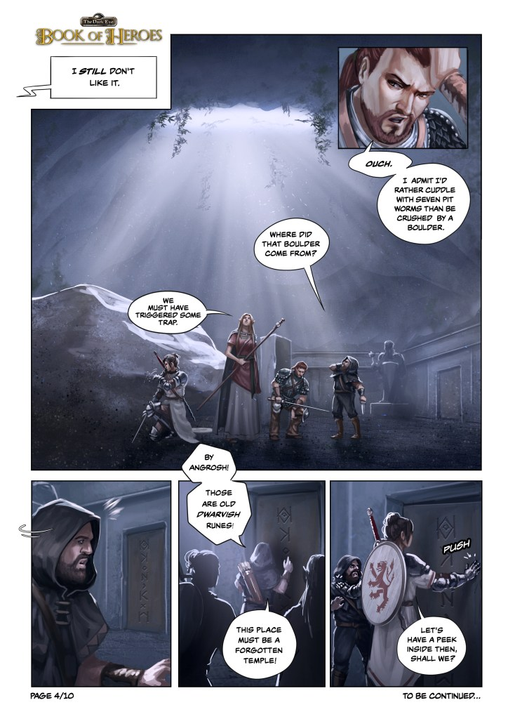 The Dark Eye: Book of Heroes Comic Page 4
