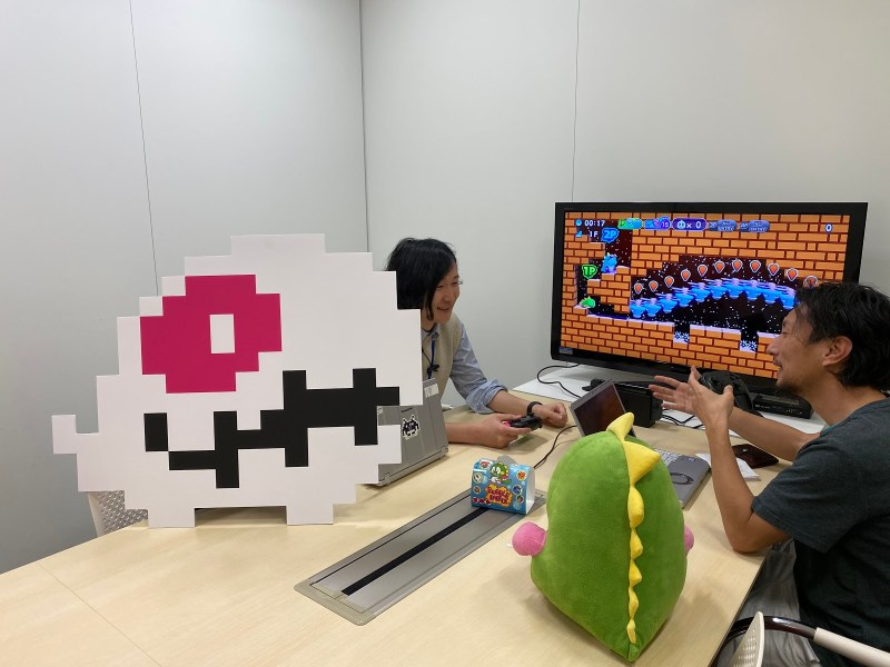 Working on new levels for the Bubble bobble 4 Friends expansion