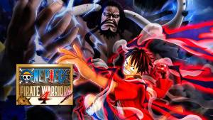 ONE PIECE: PIRATE WARRIORS 4 logo and artwork