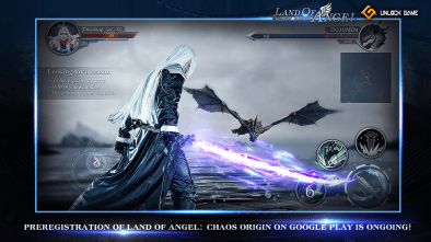 Land of Angel: Chaos Origin pre-registration available on Google Play