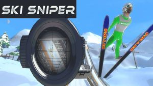 Ski Sniper logo and artwork
