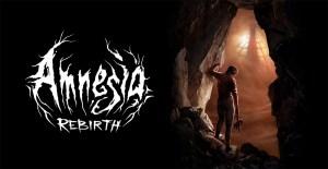 Frictional Games Amnesia: Rebirth logo