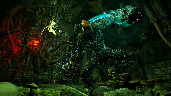 Arboria screenshot of monsterous beast