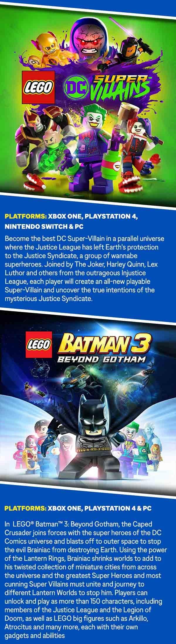 Batman 3 LEGO Artwork