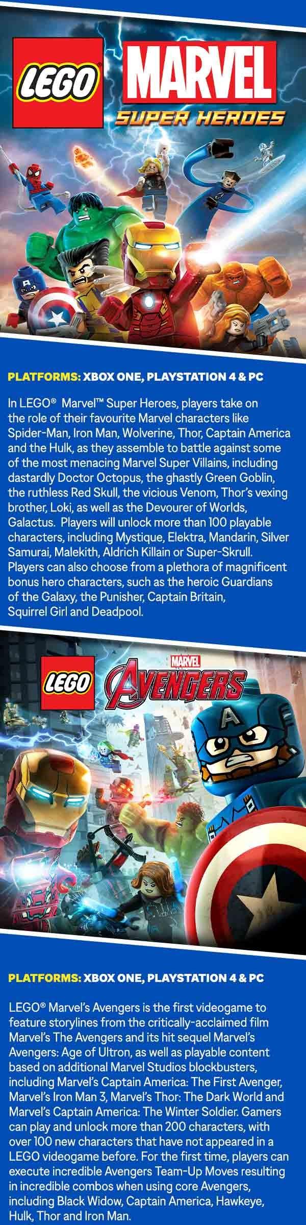 Avengers LEGO Artwork