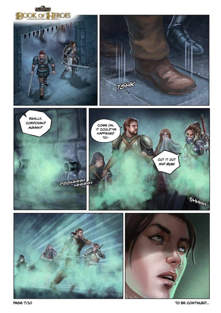 The Dark Eye: Book of Heroes Comic Page #1