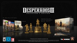 Desperados III Collector's edition with 5 figurines and music box