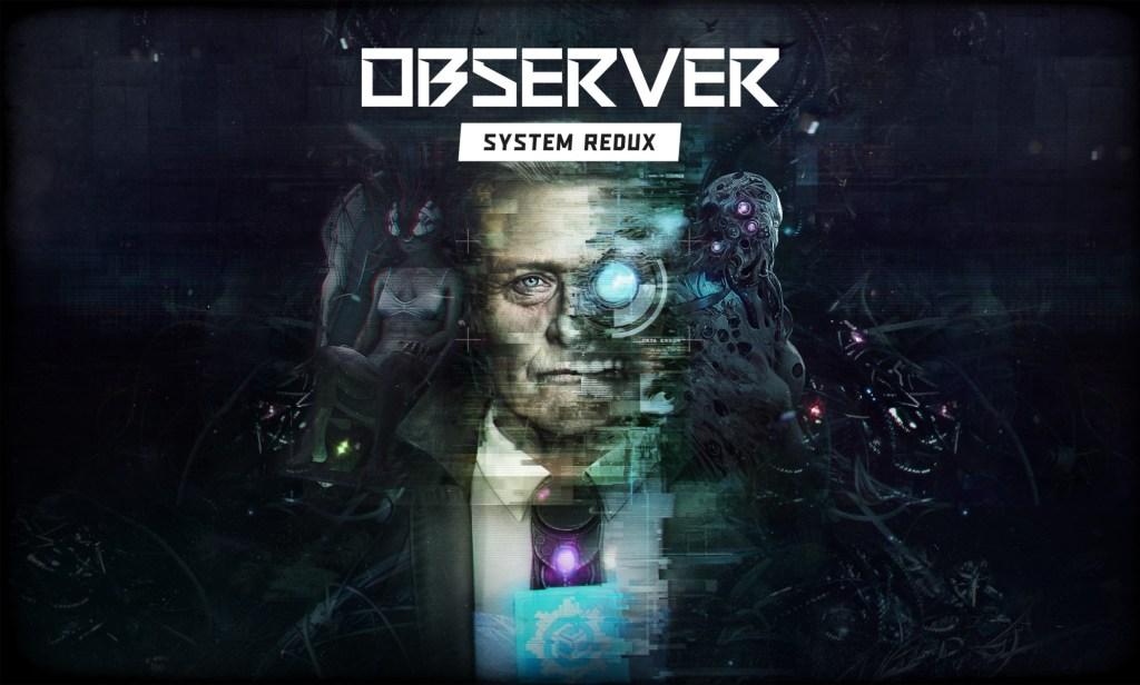 Observer: System Redux logo and artwork