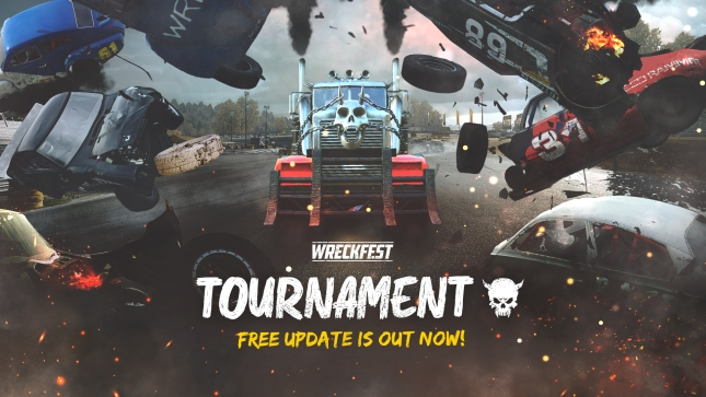 Wreckfest Free Tournament Mode update image