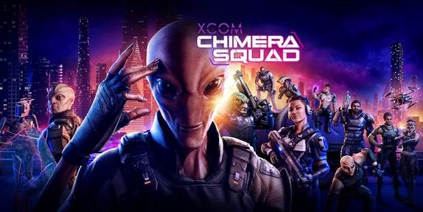 XCOM Chimera Squad Artwork