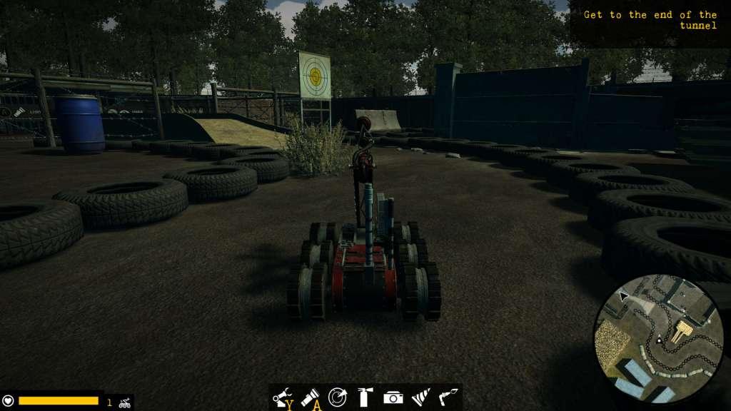 Robot Squad Simulator X gameplay of bomb disposal robot