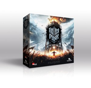 Frostpunk Board game artwork