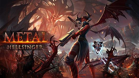 Metal Hellsinger KeyArt  Blast