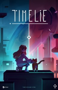 Timelie logo and artwork