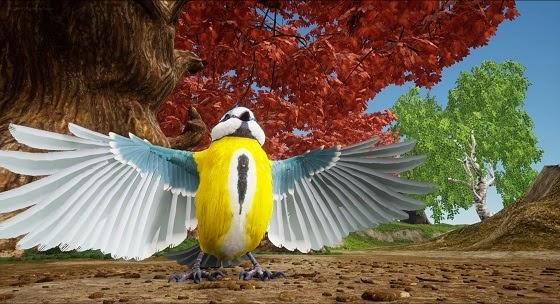 Smalland Bird artwork