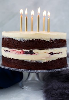 Destiny Infinite Forest Anniversary Cake