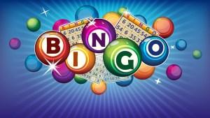 Bingo spelt out in Bingo Balls