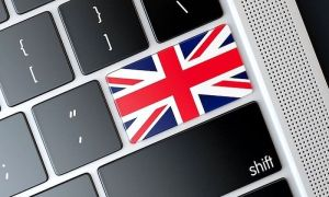 UK online casinos Union Flag on a Keyboard key
