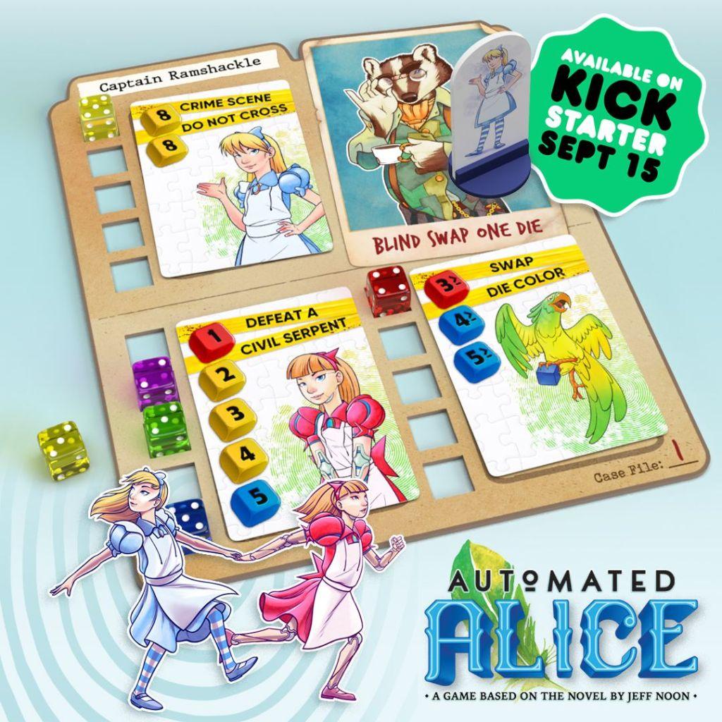 Automated Alice Kickstarter Teaser