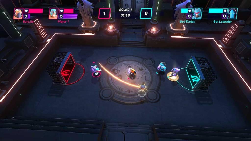 HyperBrawl Tournament gameplay