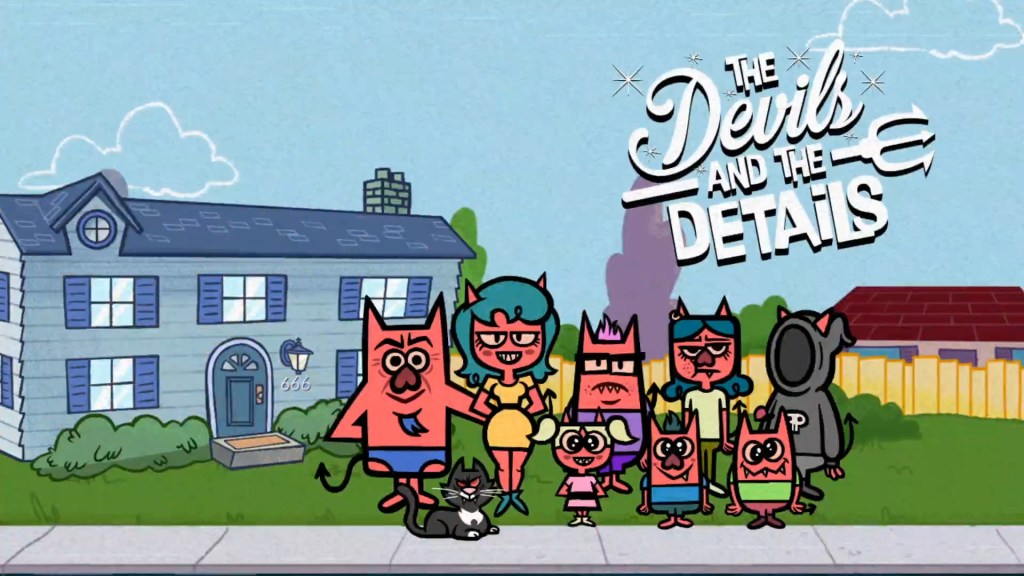 The Devils and the Details logo and artwork