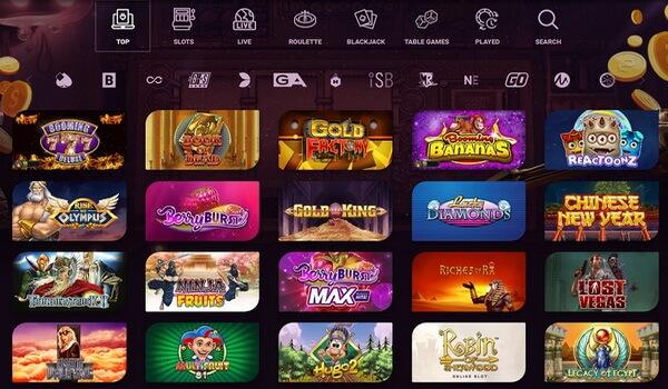 Casinonic Casinos Games in Pokies