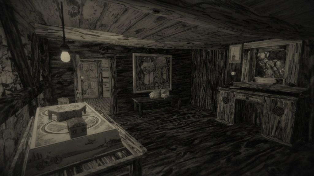 MUNDAUN screenshot of empty cabin