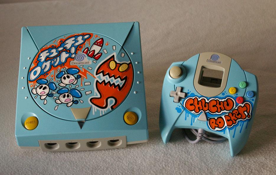 Custom Dreamcast oskunk dreamcast chuchu rocket