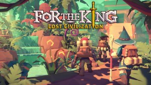 For The King Lost Civilization Expansion Pack logo