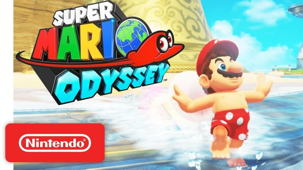 Super Mario Odyssey - Mario in his Swimming Trunks