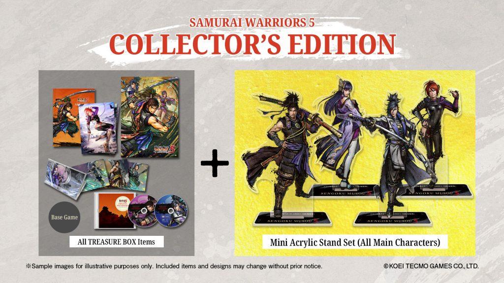 Samurai Warriors 5 Collector's Edition