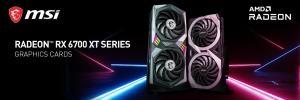 MSI Radeon RX 6700 XT graphics cards
