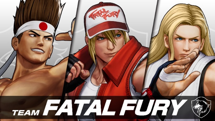 THE KING OF FIGHTERS XV Team Fatal Fury Terry Bogard Andy Bogard and Joe Higashi