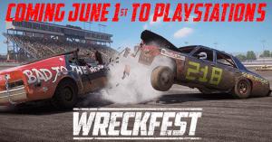 Wreckfest PS5 Header