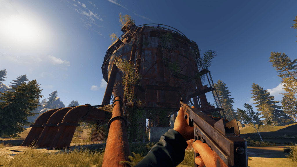 Rust Console Edition gameplay