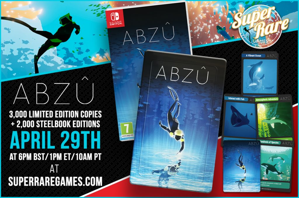 ABZÛ physical edition release details