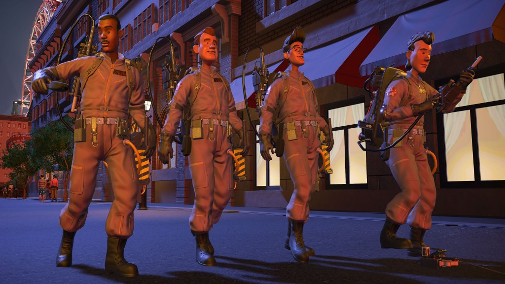 Planet Coaster Ghostbusters Screenshot