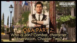 Sherlock Holmes Chapter One Q&A Video screenshot