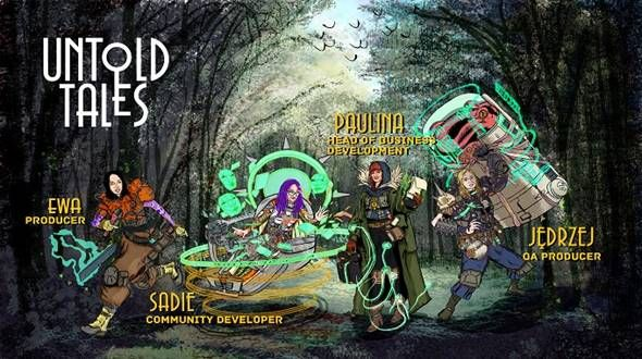 Untold Tales New Staff Appointments as avatars in-game