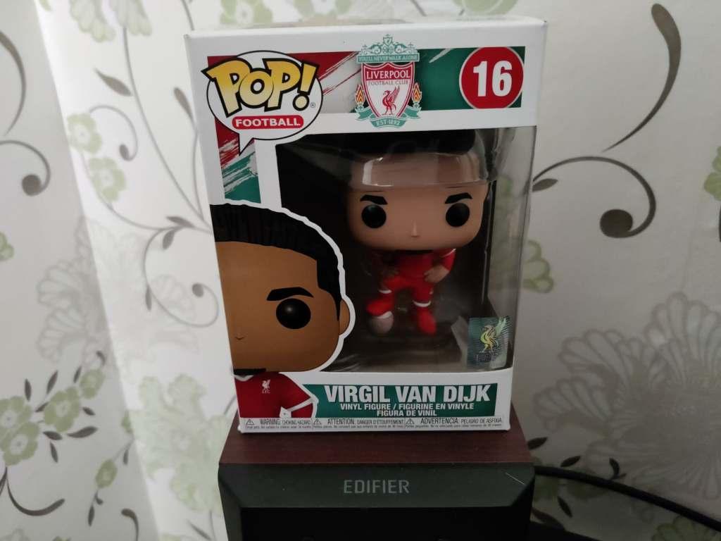 Virgil van Dijk POP! Vinyl