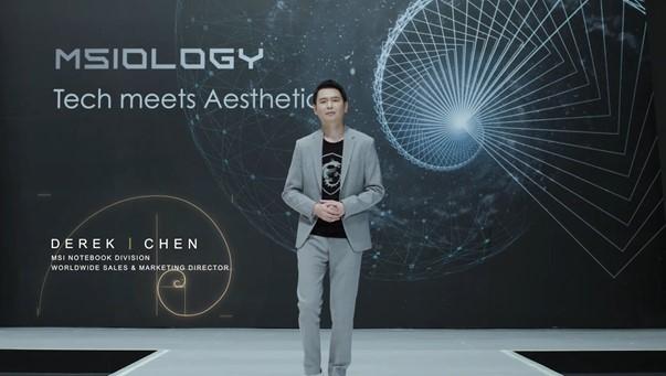 Derek Chen, MSI Notebook Worldwide Sales & Marketing Director